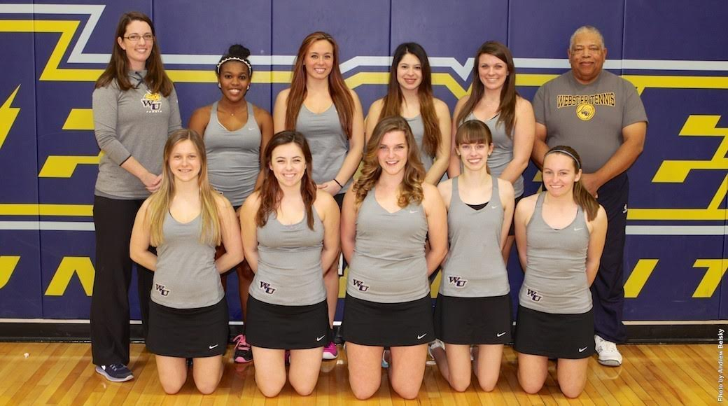 Webster Women's Tennis 2015 ITA All-Academic, Five Players Scholar-Athletes