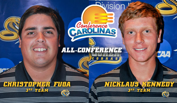 Fuga and Kennedy Named to All-Conference Team