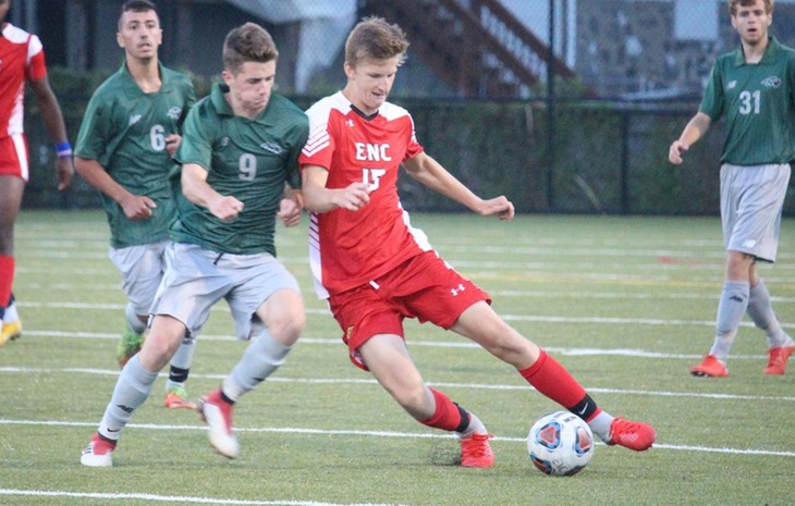 Men's Soccer Endures 3-1 Loss at Regis Wednesday