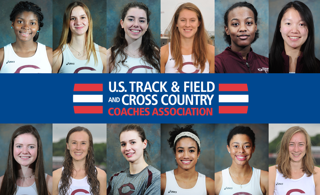 12 Maroon women's track and field athletes receive USTFCCCA All-Region status