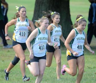 Roldan Leads Women's X-C To Fourth At Jack Saint Clair Meet