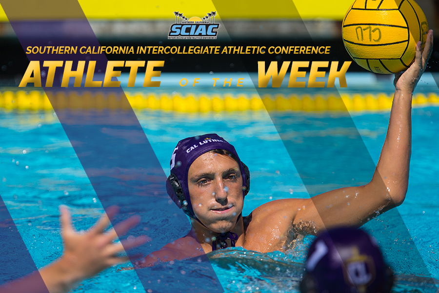 Brown Tabbed SCIAC Athlete of the Week