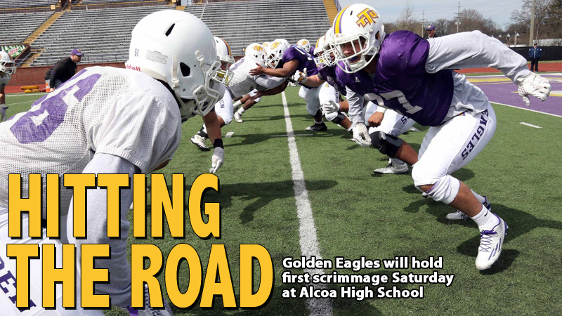Golden Eagles to hold first scrimmage Saturday at Alcoa High School; Fans invited to 11 a.m. event