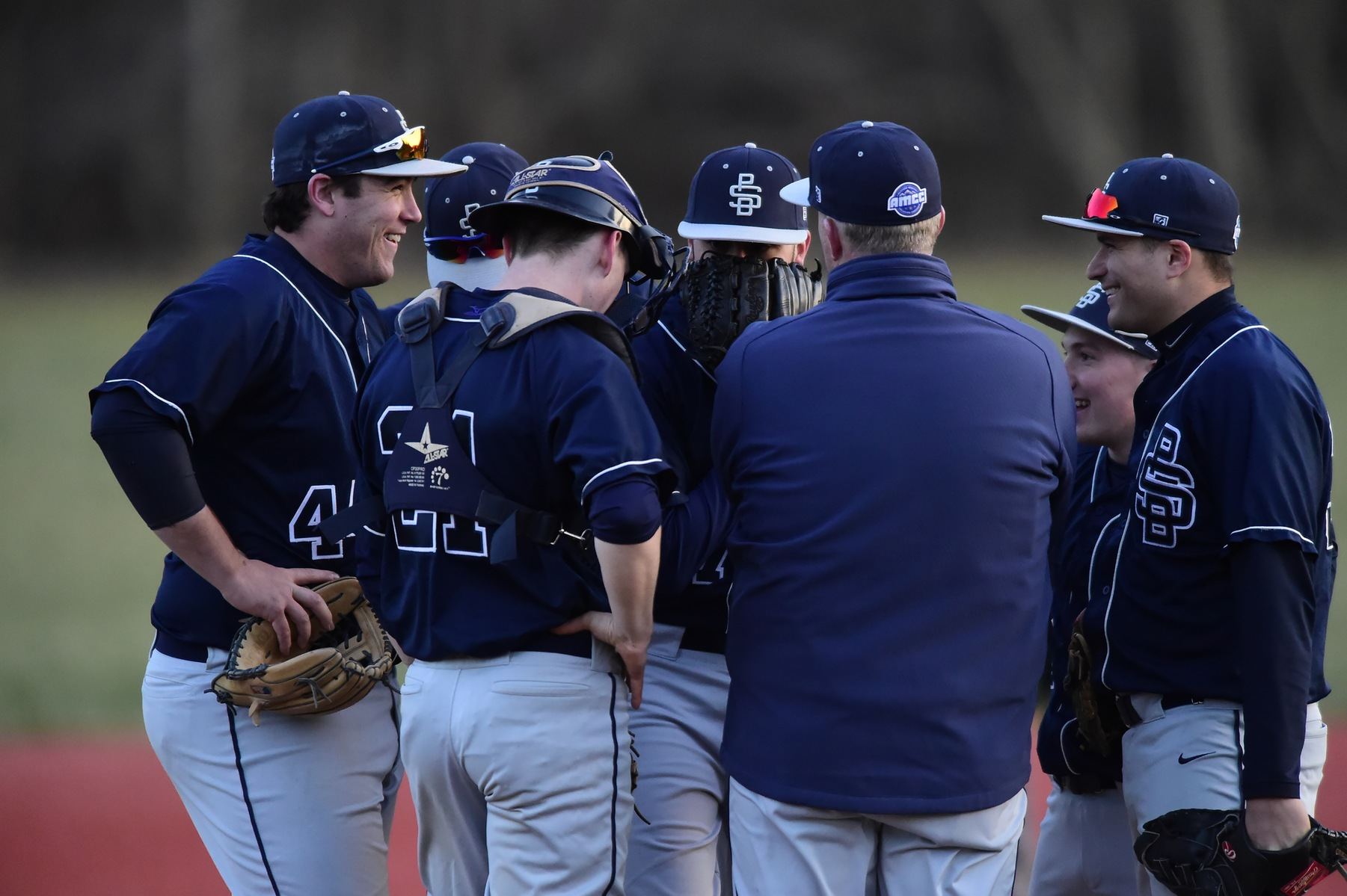 Six Selected as Baseball All-AMCC