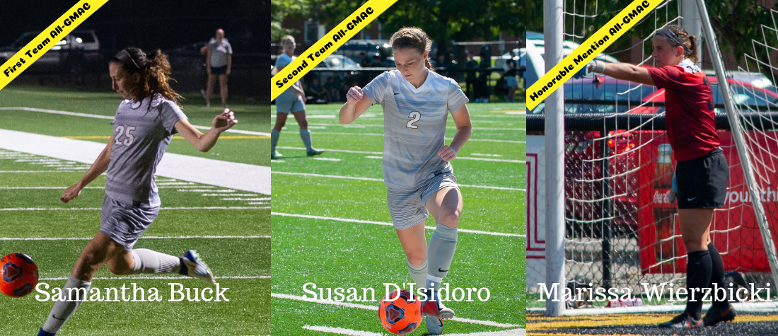 Women's Soccer Has Three Named to All-GMAC Teams