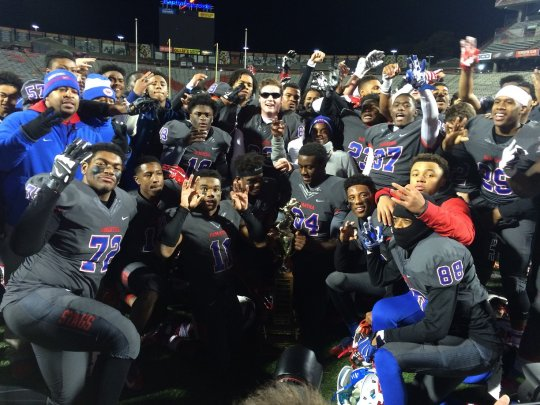 DeMatha makes it a WCAC football three-peat, hammers Good Counsel, 48-17