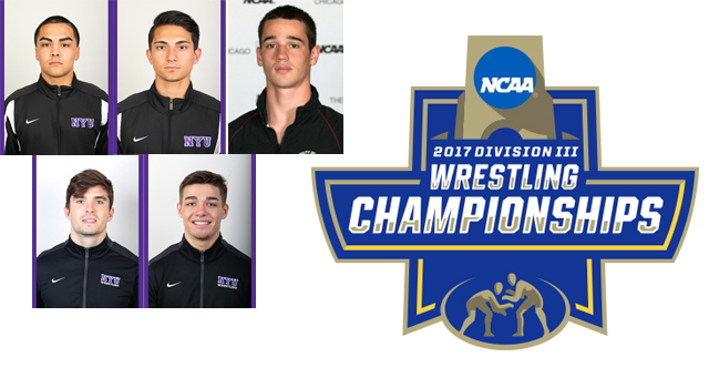 Five UAA Grapplers to Compete in NCAA Wrestling Championships