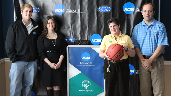 SCAC raises $1,900 for Special Olympics at 2012 Basketball Tournament