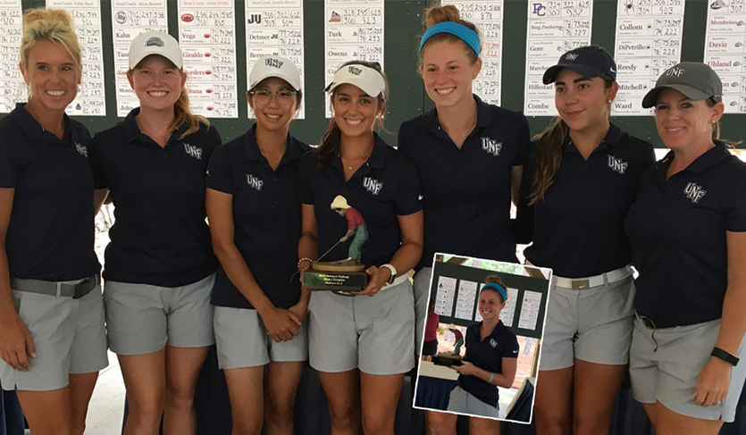 UNF Sweeps Team & Individual Titles at Pinehurst Challenge