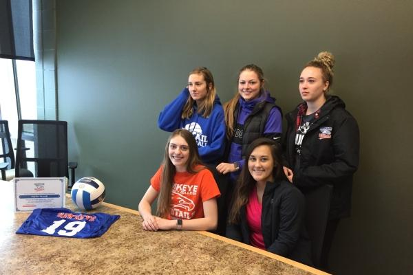 Independence Senior Taylor Wendt signs with RedTail Women's Volleyball