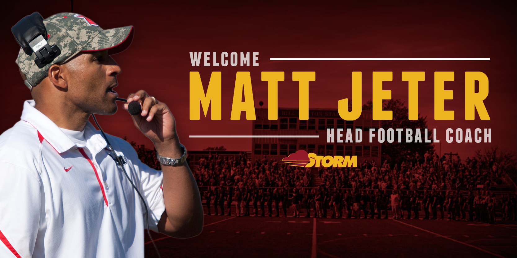 Matt Jeter hired as head football coach
