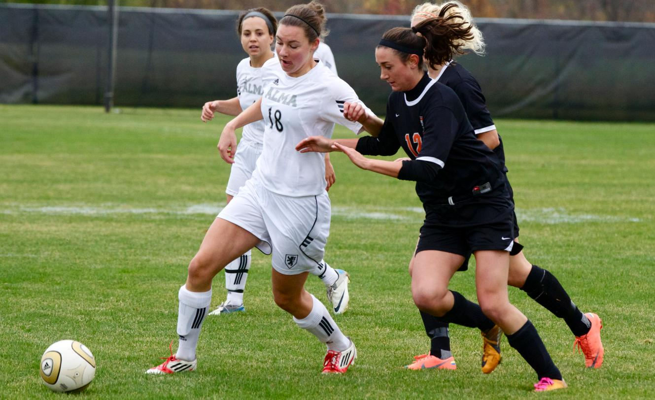 Scots Women's Soccer is beaten by Kalamazoo 5-0 on Saturday