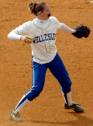 Wellesley Junior Barbarajean Grundlock Named NEWMAC Softball Pitcher of the Week