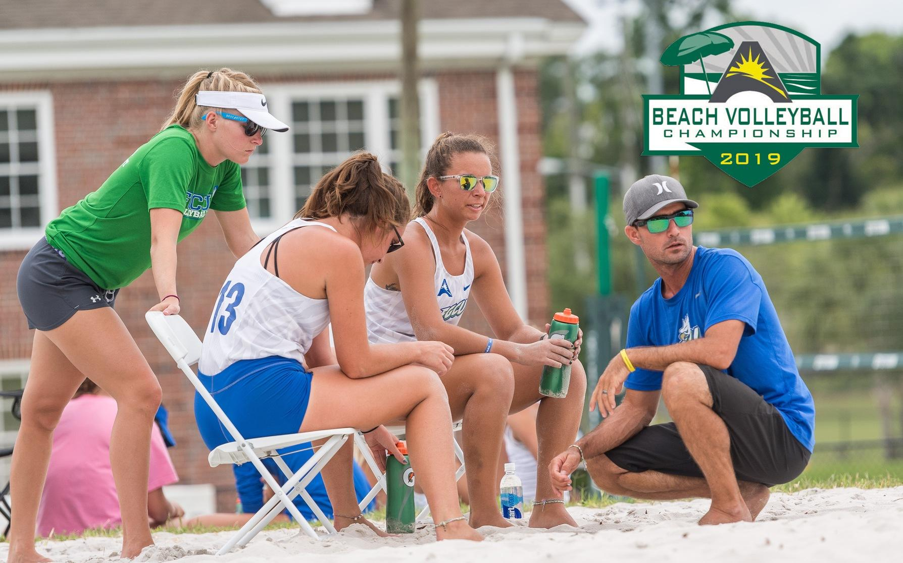 FGCU Downs Coastal Carolina to Move on in #ASUNBVB Championship