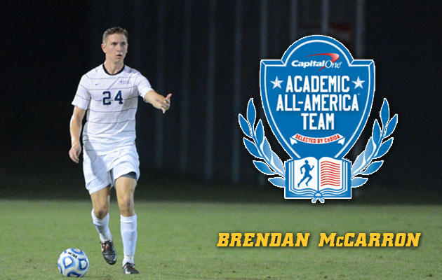 McCarron Named to Capital One Academic All-District Team