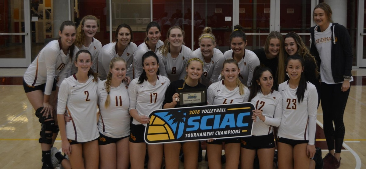 How Sweep It Is! CMS Volleyball Defeats Cal Lutheran 3-0 to Repeat as SCIAC Champions