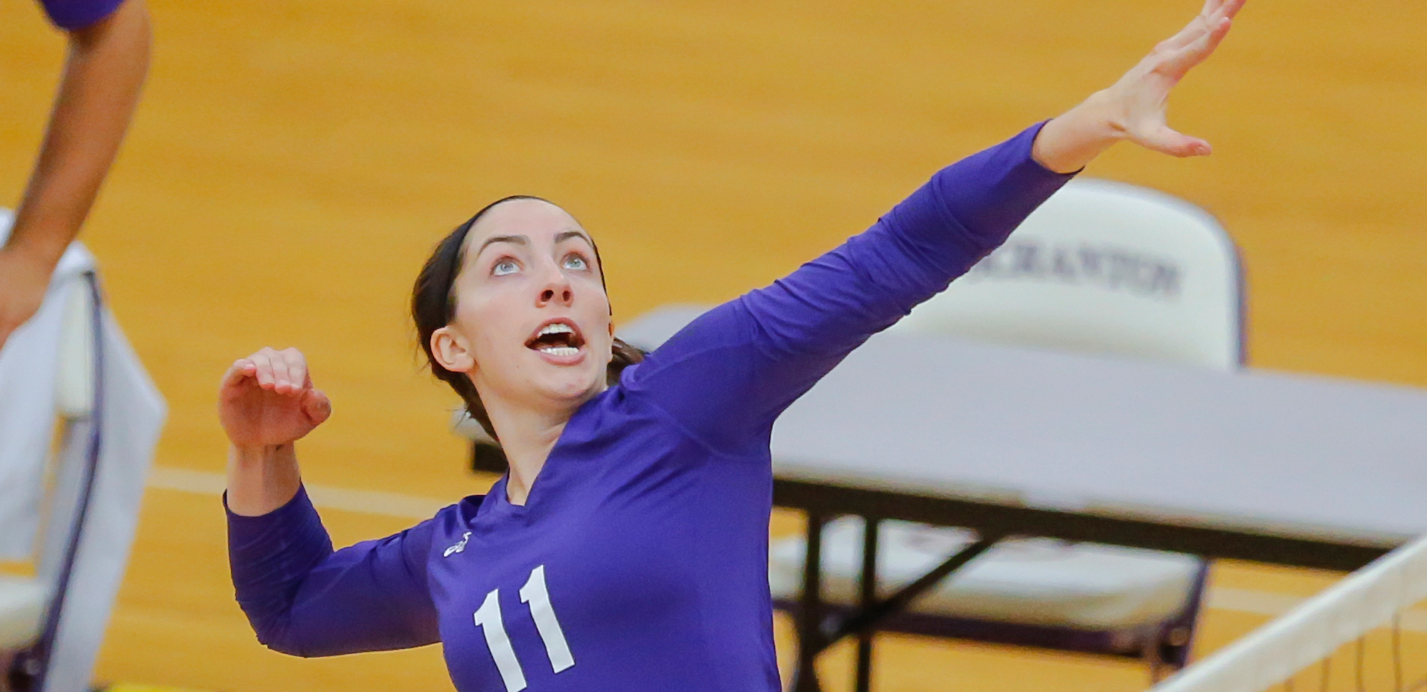 The volleyball programs first All-American ever, Julia Crilly '15 now serves as a nurse in a NICU in San Diego, Calif.