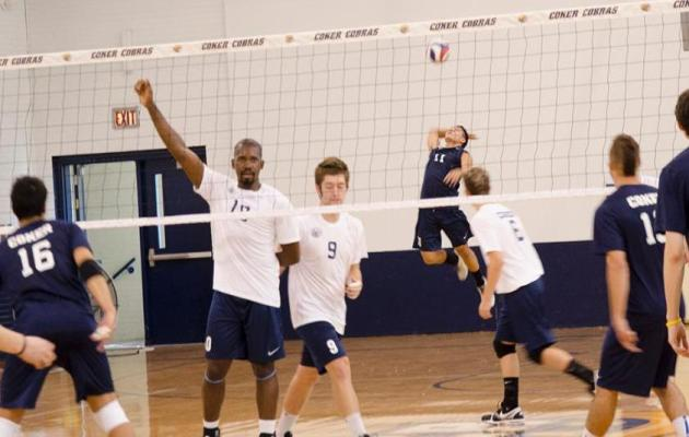 Coker Men's Volleyball Hungry for First Season