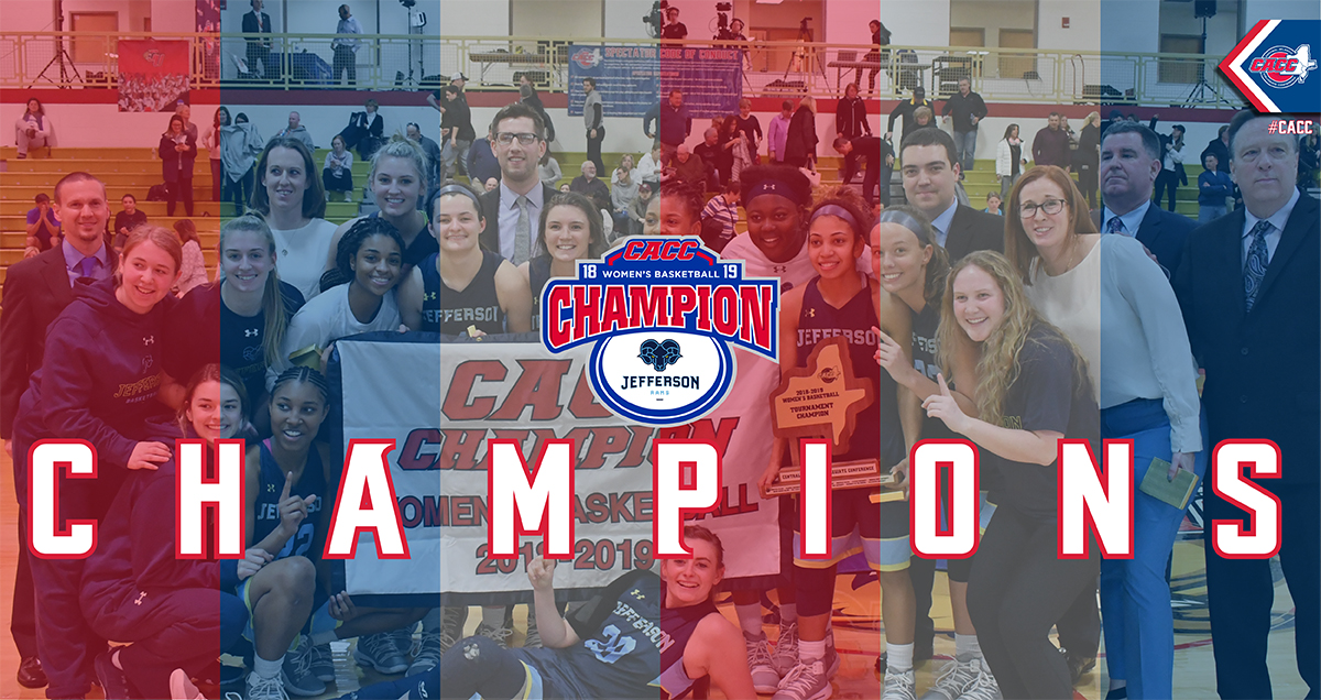 Jefferson Wins OT Thriller Over USciences to Claim 2018-19 CACC Women's Basketball Championship