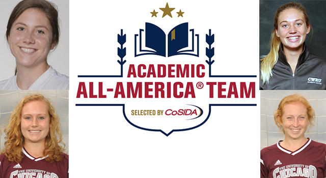 Four UAA Women's Soccer Student-Athletes Earn CoSIDA Academic All-America Honors