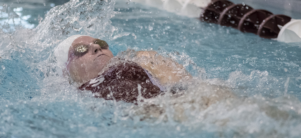 Nationally-Ranked Amherst Downs Women's Swimming and Diving