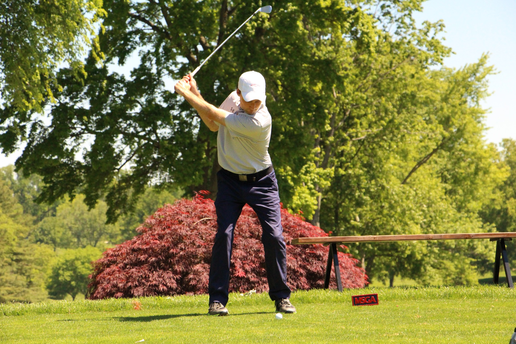 Head Coach Hunter Brown Plays in U.S. Open Qualifier at Hillendale
