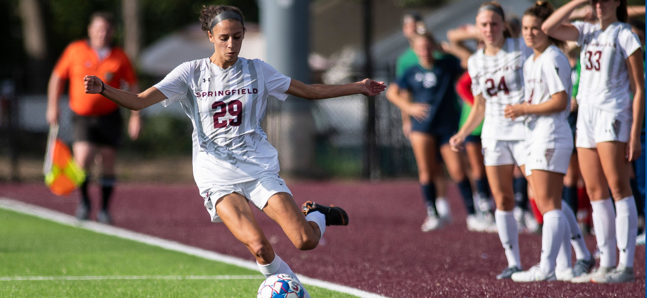 Women's Soccer Rallies for 2-1 Victory over Emerson