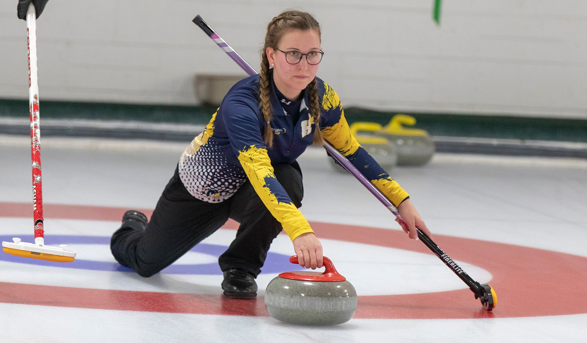 HAWKS JUMP AHEAD EARLY AND HANG ON FOR OCAA MIXED CURLING GOLD