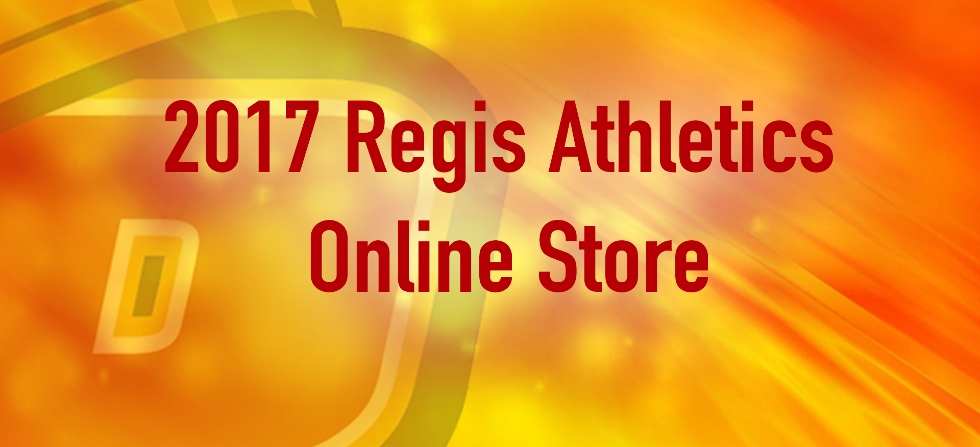 Regis Athletics Launches Limited Time Online Store