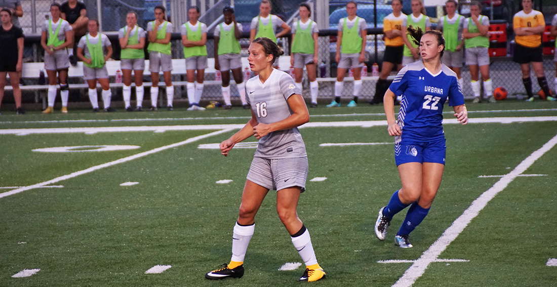 Pavlik's Header Secures 1-0 Win For Women's Soccer Over Findlay