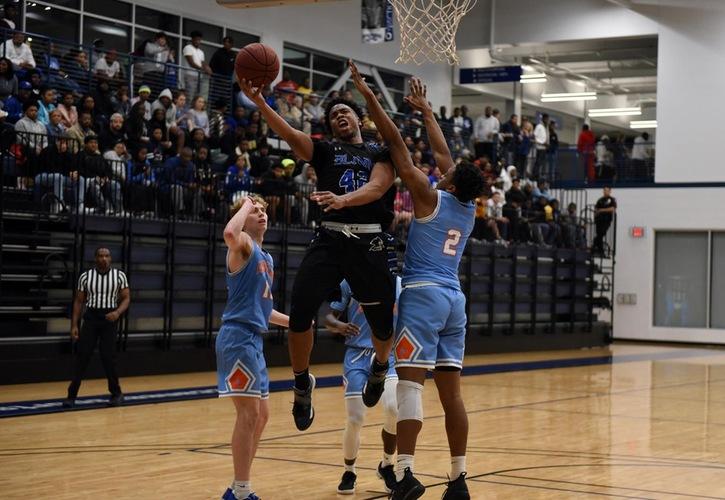 Men's Basketball:  Blinn Tops Angelina, 78-64