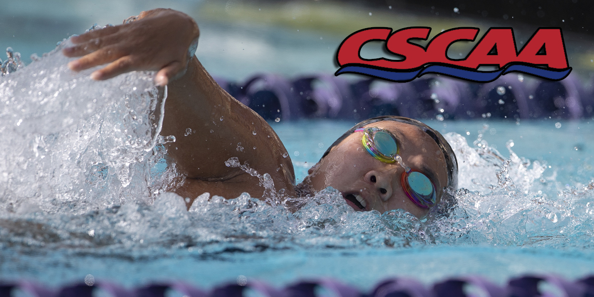 Swimming & Diving named CSCAA Scholar All-American Selection