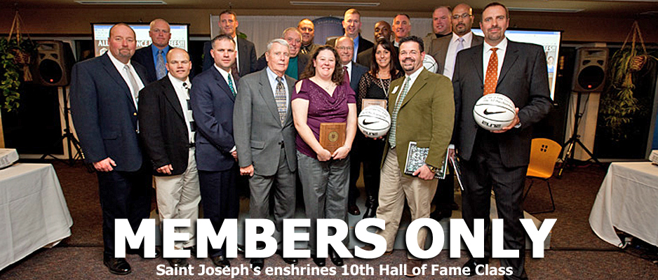 Saint Joseph's Enshrines 10th Hall of Fame Class