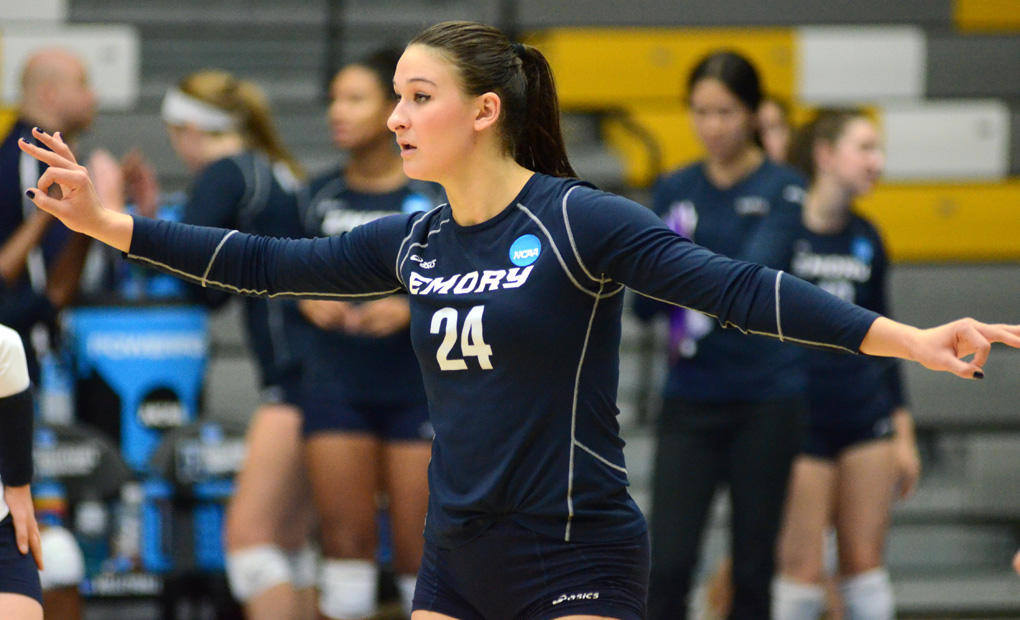 Emory Volleyball Season Comes To An End In Quarterfinals Of NCAA Championships