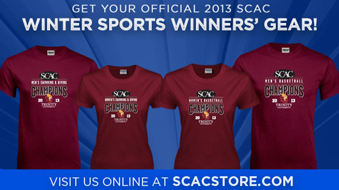 Order Exclusive SCAC Winter Championship Winners Gear