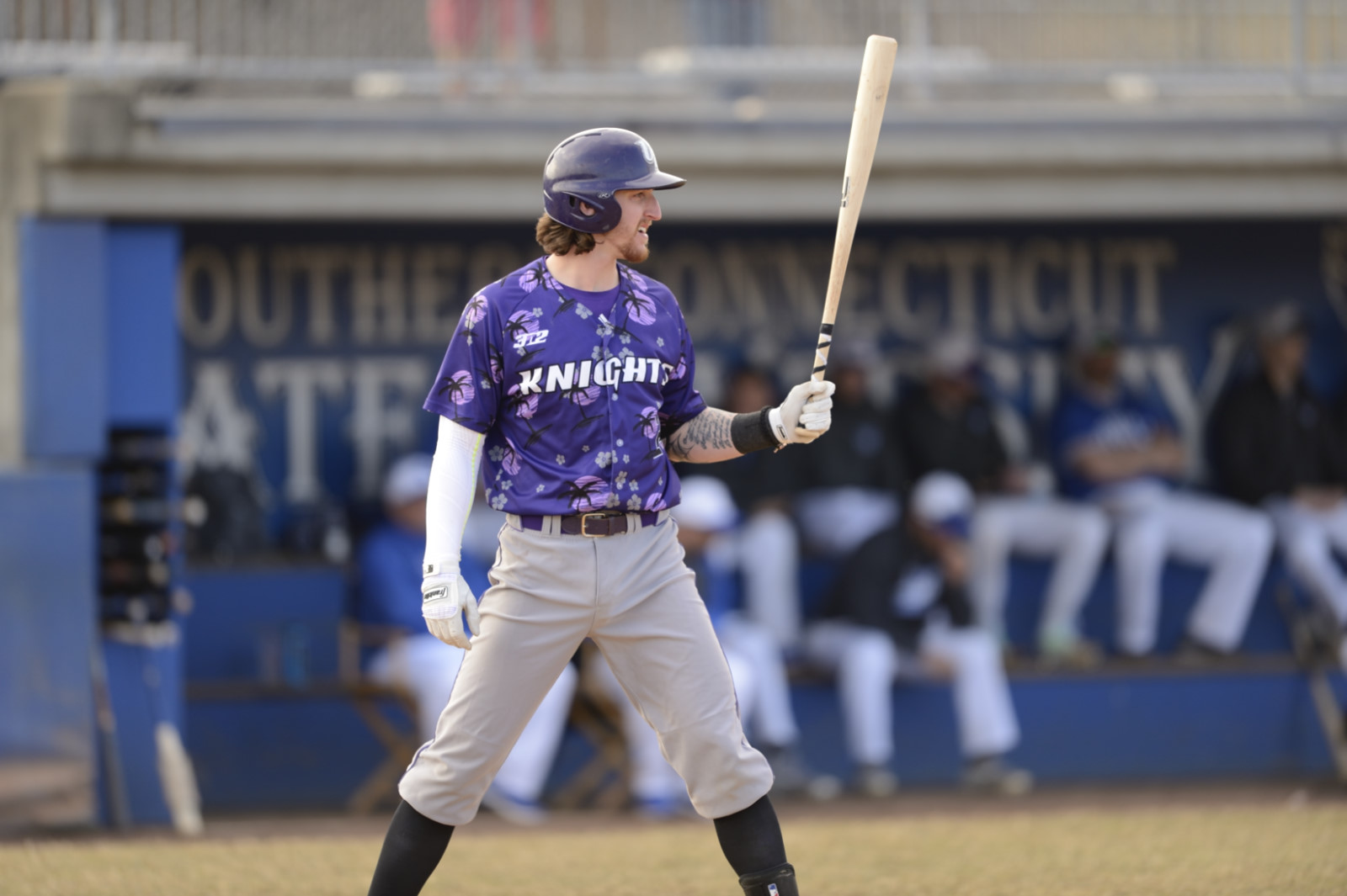 Purple Knights Rally But Fall In Baseball To St. Leo, 18-17, In 10 Innings