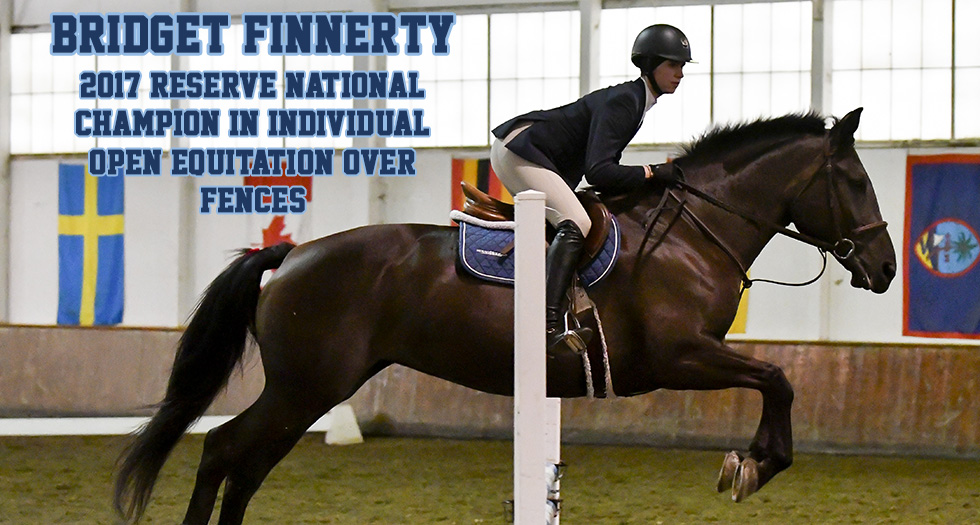 Riding 11th After Day 1 of Nationals; Finnerty Earns Reserve National Champion Honors