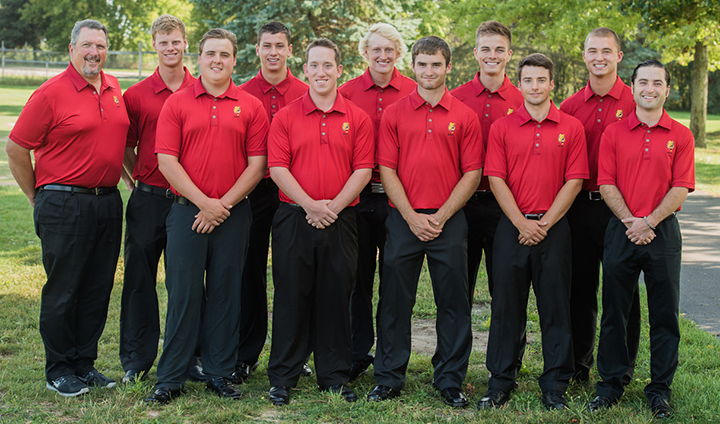 Men's Golf Takes Fifth At NCAA Midwest Regional Fall Event