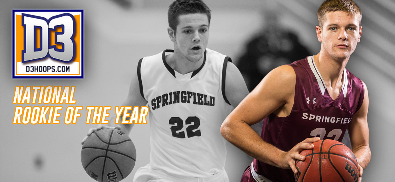 Ross Named D3hoops.com Men's Basketball National Rookie of the Year