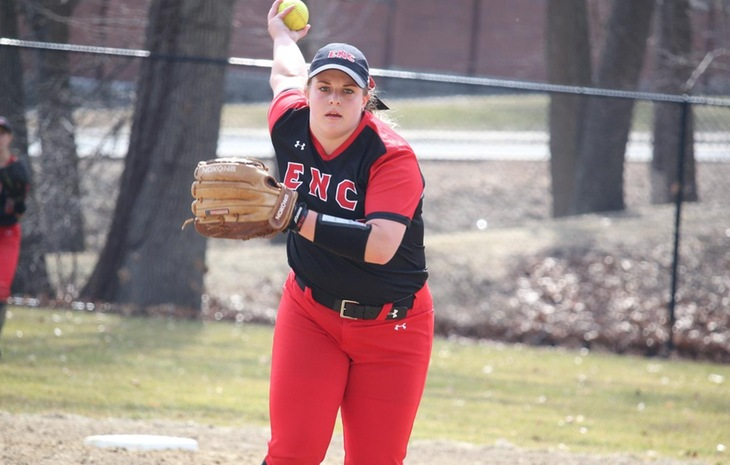Elisabeth Schaffer Tabbed NECC Softball Pitcher of the Week