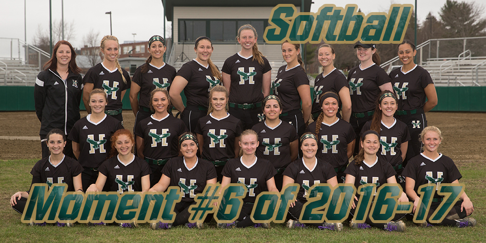 Top 10 Moments of 2016-17: #6 Softball Sweeps Doubleheader with NEC