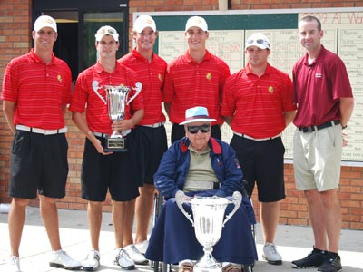 Men's Golf Wins Season-Opening Tournament