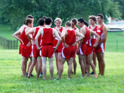 Cardinals finish fifth at Landmark Conference championship