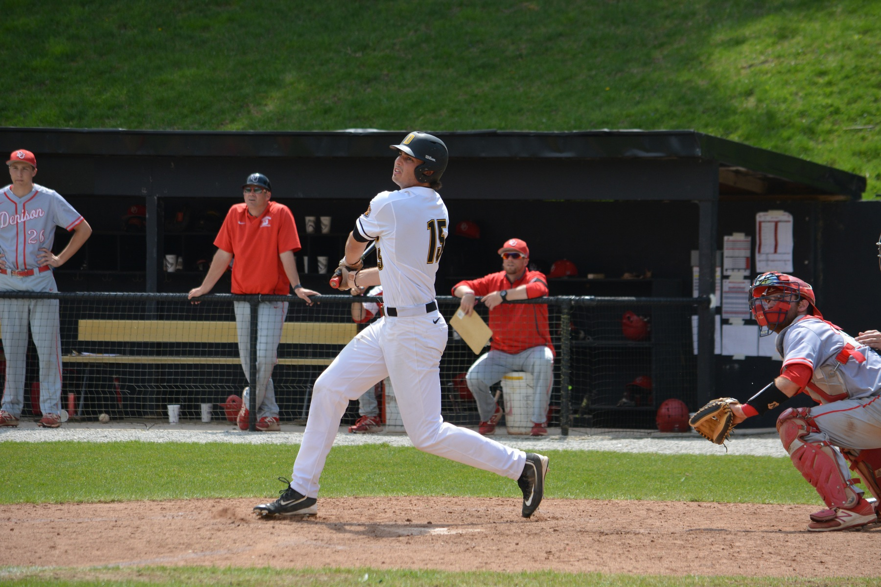Tigers Split Final Two with Denison; Take 3-of-4 in Series