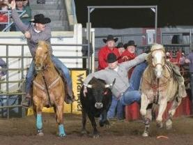 FSCC Alum and Steer Wrestler, Stewart Gulager Wins Big at The American