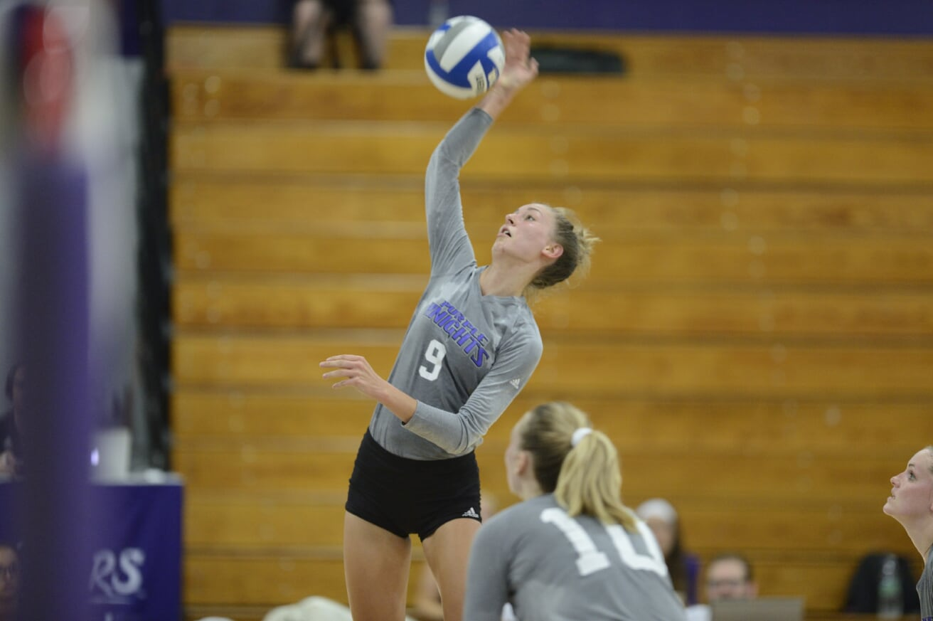 UB Women's Volleyball Moves To 2-0 In Conference Play With Home Sweep Of Molloy