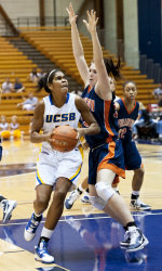 Gauchos Use Big Second Half to Defeat Cal State Northridge, 71-48