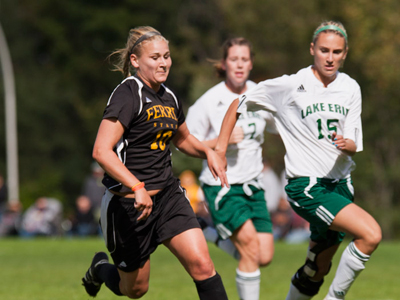 Women's Soccer Dominates Lake Erie In Home Conference Decision