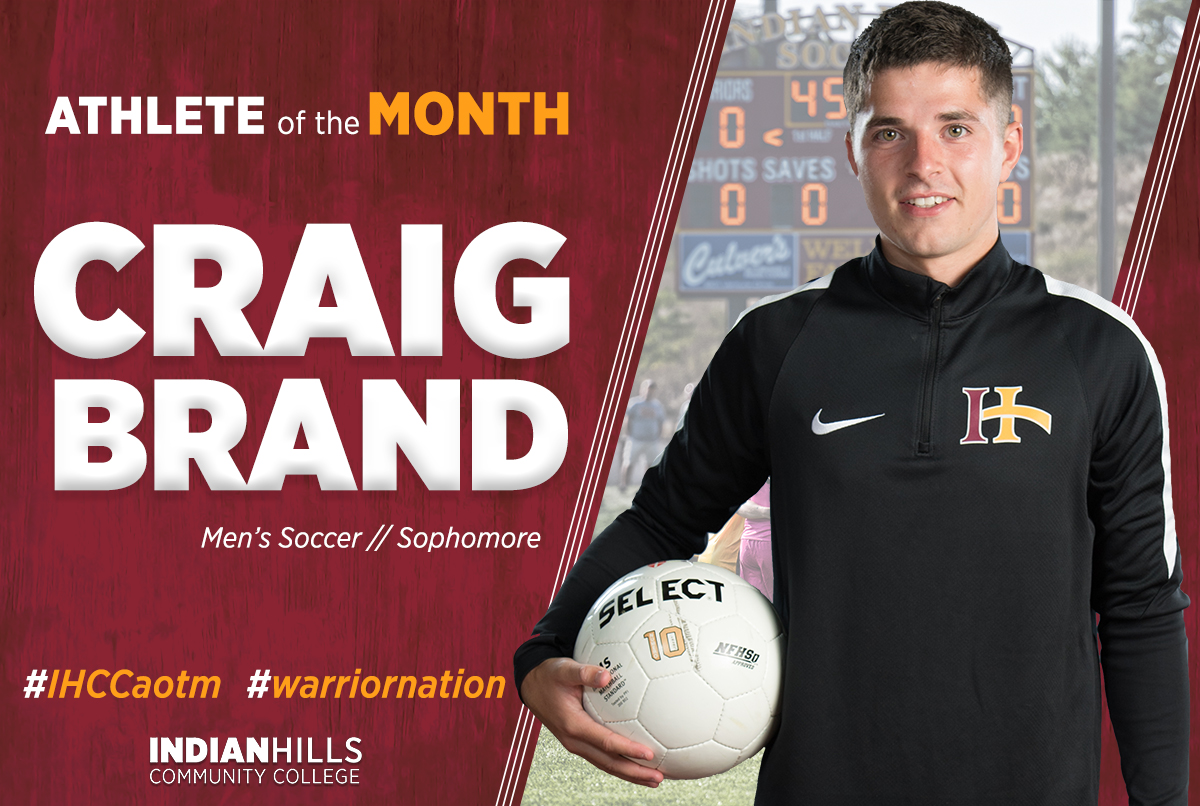 Athlete of the Month - Craig Brand