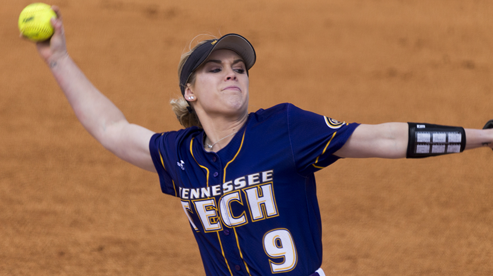 Tech softball stretches win streak to five, sweeps Rhode Island